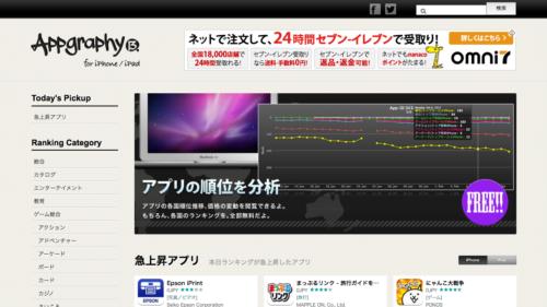 AppGraphy(アップグラフィー) [世界のiPhone/iPadのアプリランキングからオススメアプリを紹介]