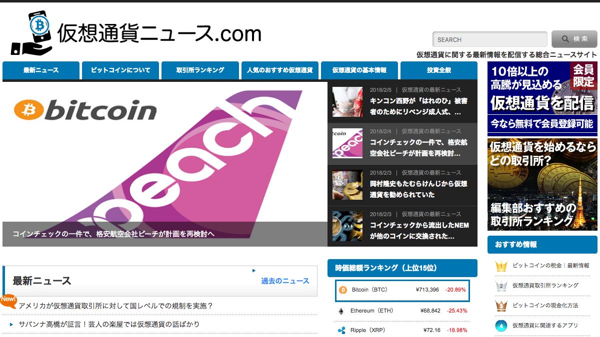仮想通貨ニュース.com