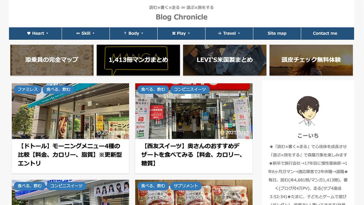 Blog Chronicle